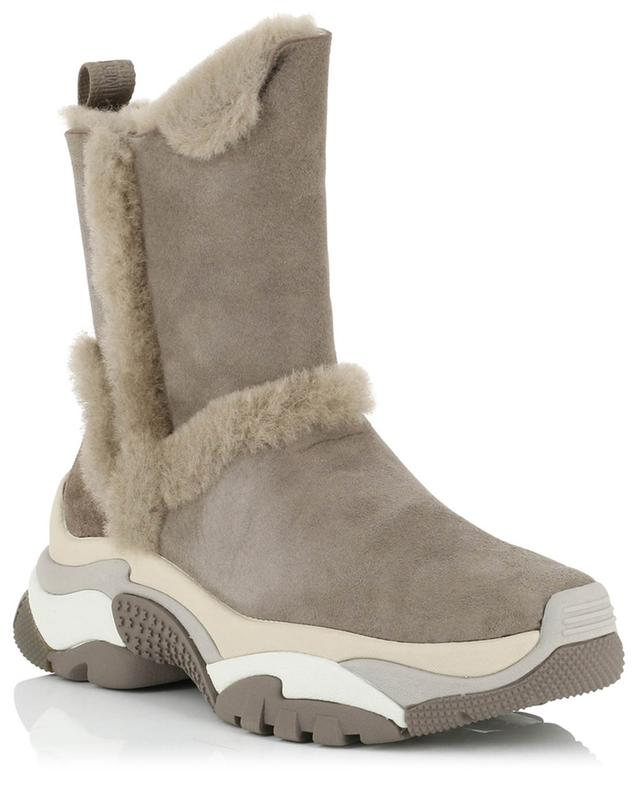 Alpes shearling ankle boots ASH