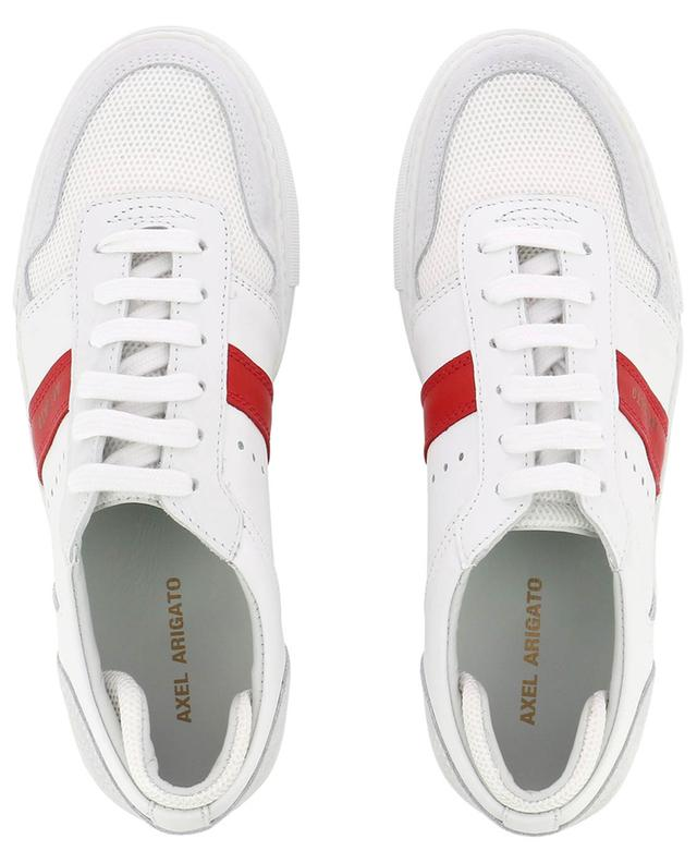 Platform multi material sneakers with red detail AXEL ARIGATO