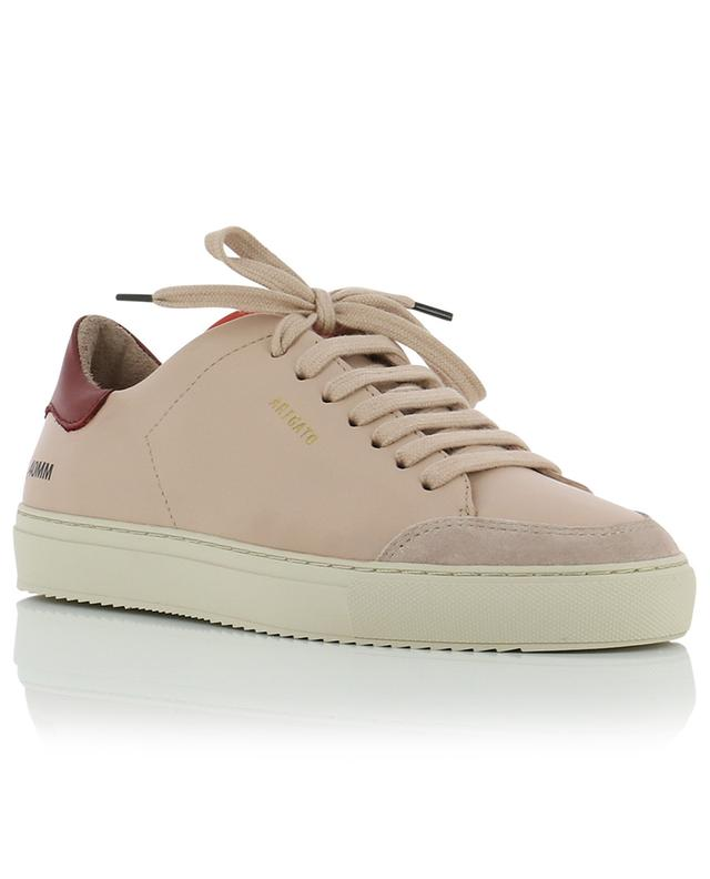 Clean 90 pink low-top sneakers with dark red detail AXEL ARIGATO
