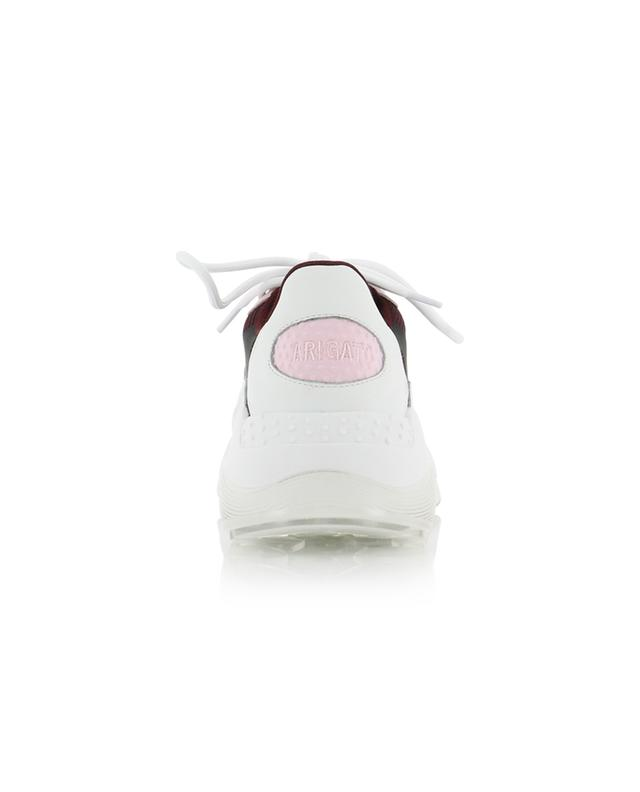 Swipe Runner multi material sneakers with red and pink details AXEL ARIGATO