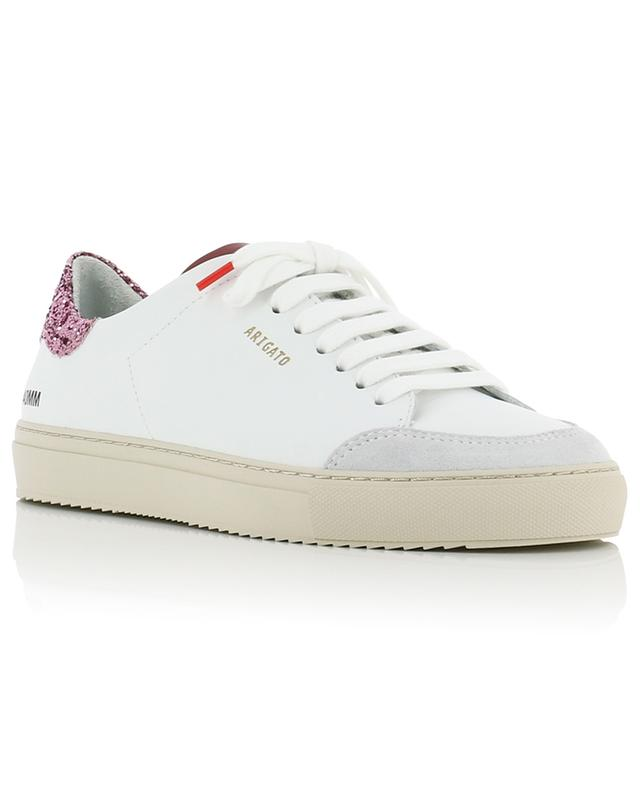 Clean 90 white low-top sneakers with pink glitter AXEL ARIGATO