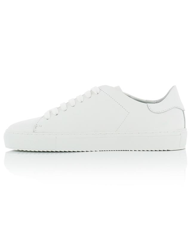 Clean 90 white silver bird embroidered low-top sneakers AXEL ARIGATO