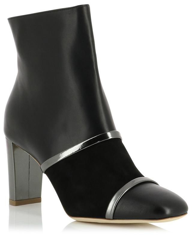 Dakota MS 70 leather ankle boots with metallic details MALONE SOULIERS