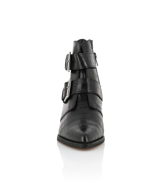 Denny western spirit croc ankle boots KURT GEIGER LONDON