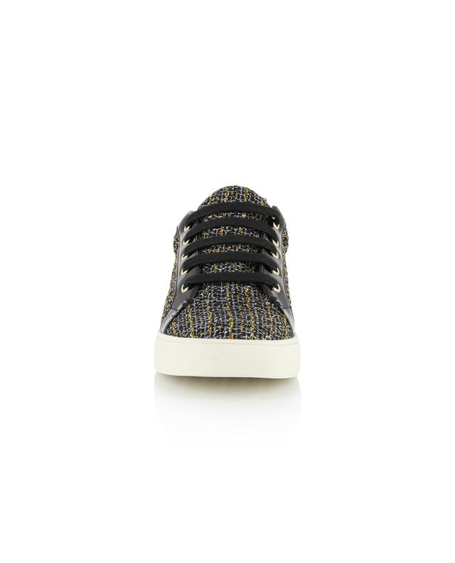 Baskets plates en lurex Ludo KURT GEIGER LONDON