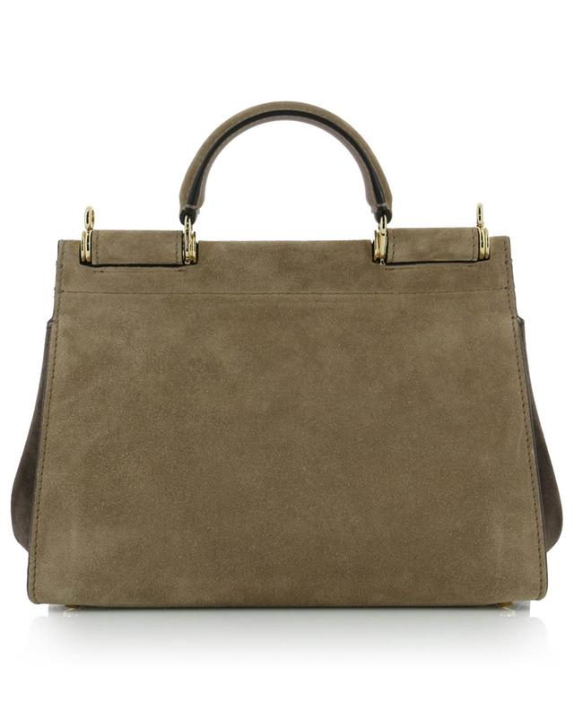Sicily Soft Small bicolour suede bag DOLCE & GABBANA