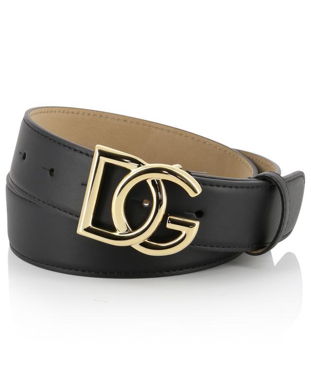 Logo adorned leather belt DOLCE & GABBANA