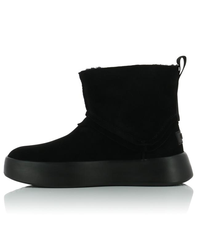 W Classic Boom suede ankle boots with shearling lining UGG