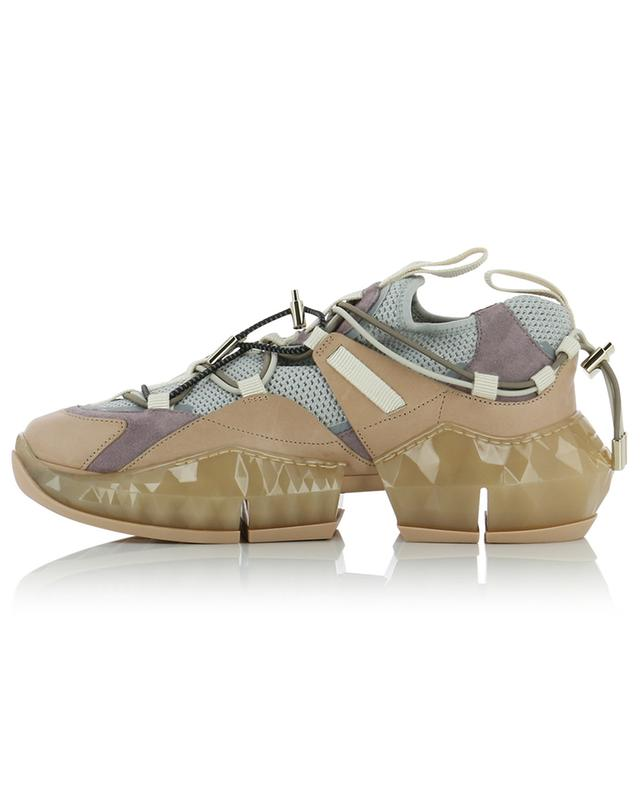 Diamond Trail/F mesh and suede sneakers JIMMY CHOO