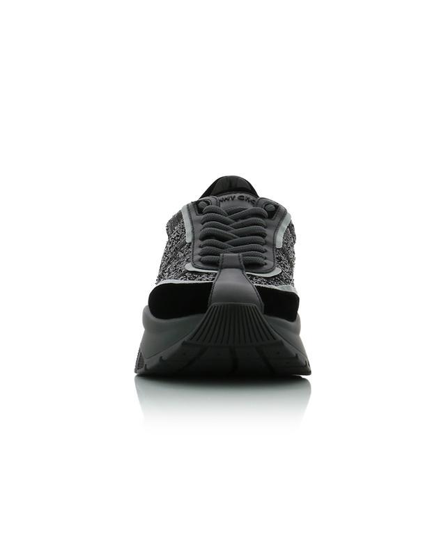 Baskets scintillantes à semelles épaisses Raine JIMMY CHOO