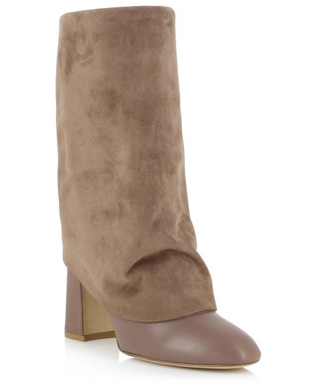 Lucinda modular leather boots with heels STUART WEITZMAN