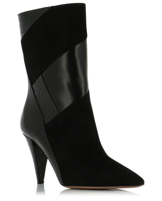 Calder 85 patchwork ankle boots AQUAZZURA