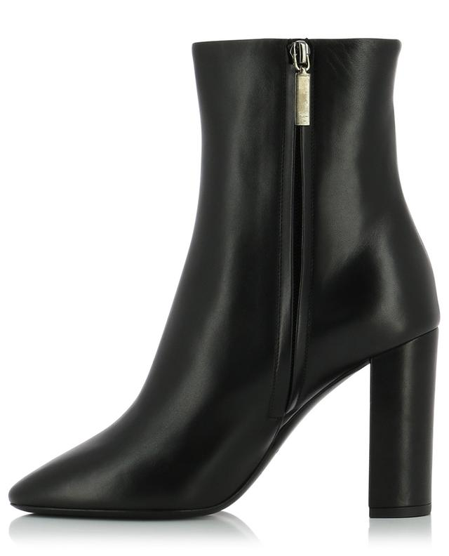 Lou 95 monogrammed nappa leather ankle boots SAINT LAURENT PARIS