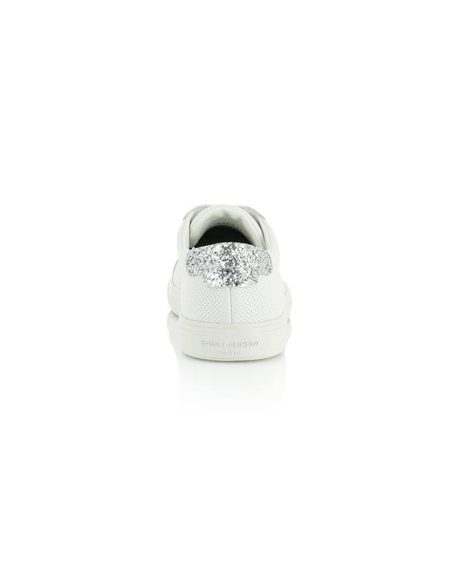 Sneakers aus perforiertem Leder mit Glitter Andy SAINT LAURENT PARIS