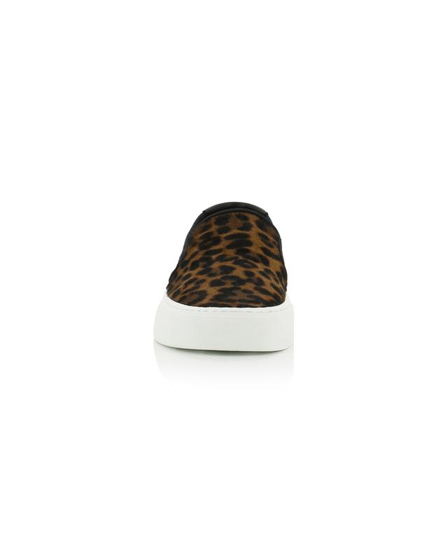 Baskets slip-on imprimées léopard Venice SAINT LAURENT PARIS