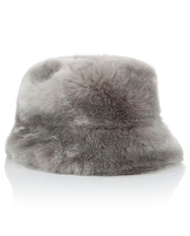 Fuzzy Cloche faux fur hat / FAZ / NOT FUR