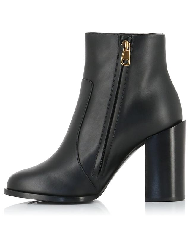Bottines à talon en cuir boucle DG Jane Rodeo DOLCE & GABBANA