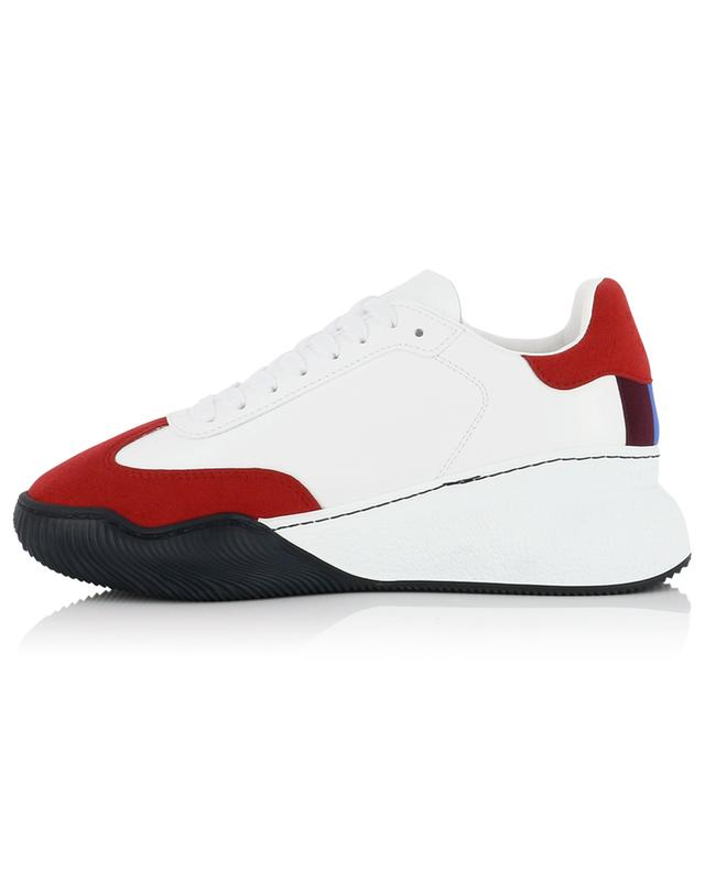 Loop faux leather and suede sneakers STELLA MCCARTNEY