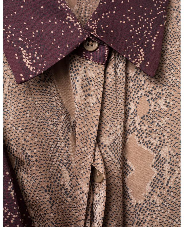 Yvonet flowy snakeskin print shirt EQUIPMENT