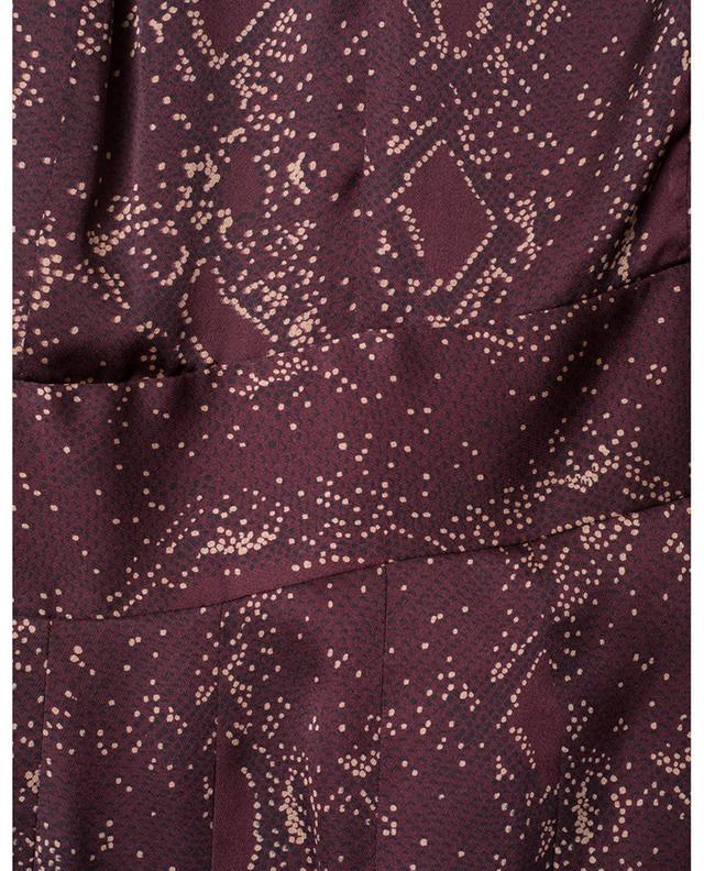 Robe courte imprimée python Jenava EQUIPMENT