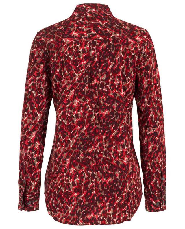 Camouflage print viscose shirt EQUIPMENT