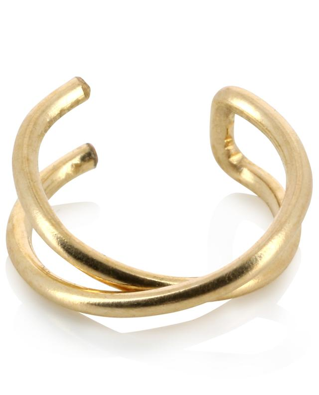 Helix Croise mono-upper ear clip THEGOLDLOVESHOP