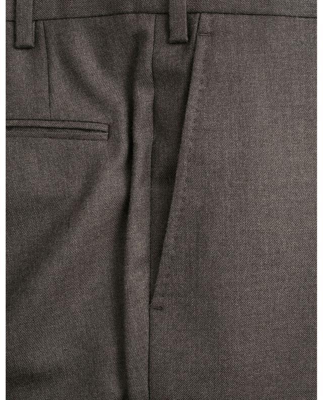 Pantalon classique en sergé de cachemire Slim80 MARCO PESCAROLO