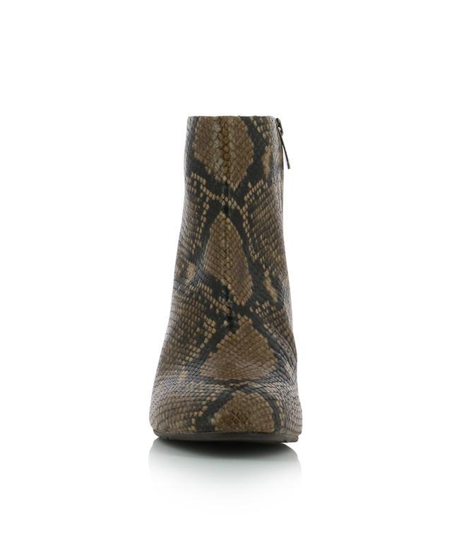 Bottines en cuir effet serpent BONGENIE GRIEDER
