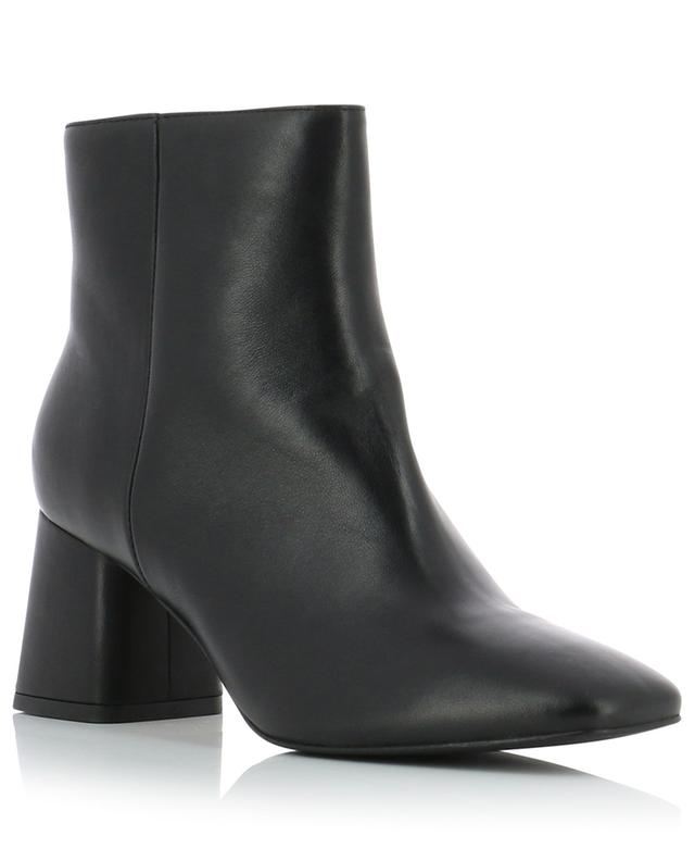 Square toe nappa leather ankle boots BONGENIE GRIEDER