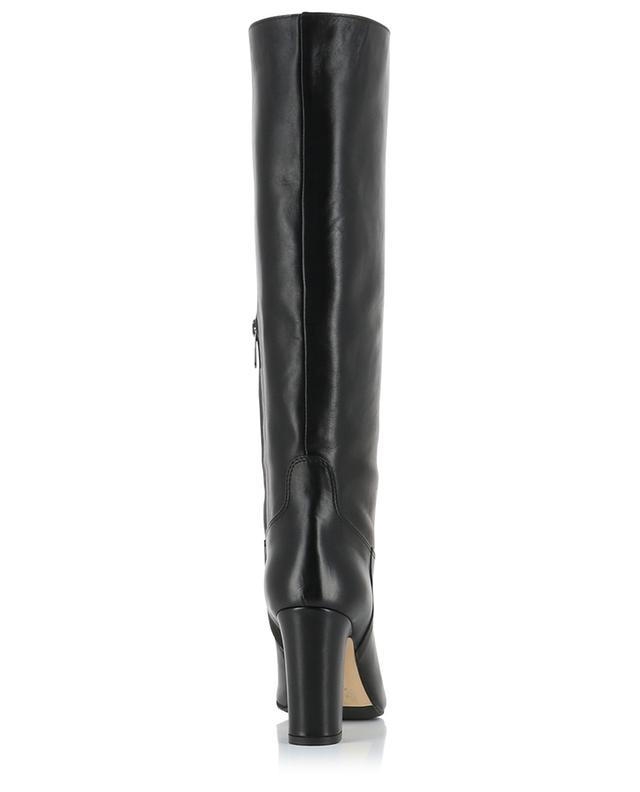 Heeled smooth leather boots BONGENIE GRIEDER