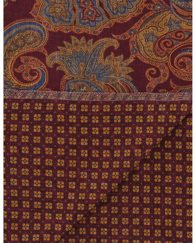 Écharpe fine motif paisley et fleurs Salina ROSI COLLECTION