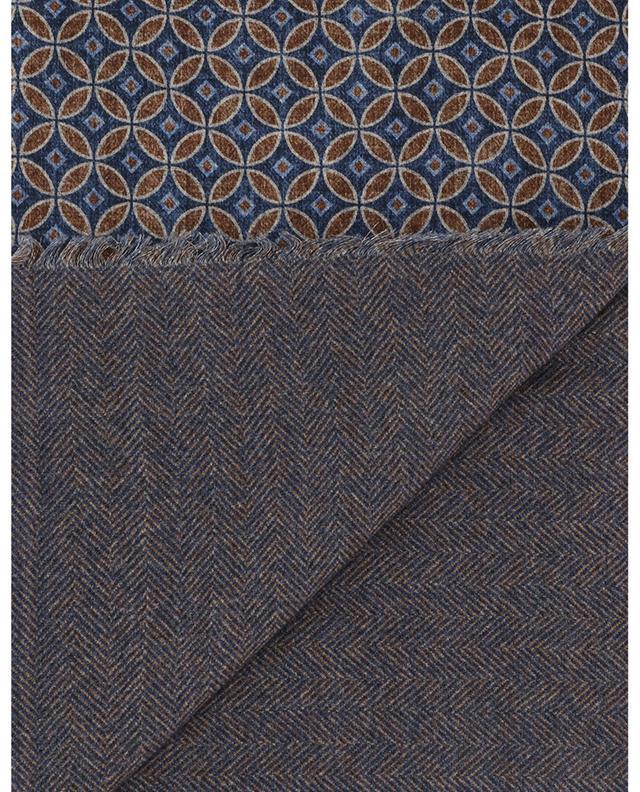 Bormio thin geometric print scarf ROSI COLLECTION