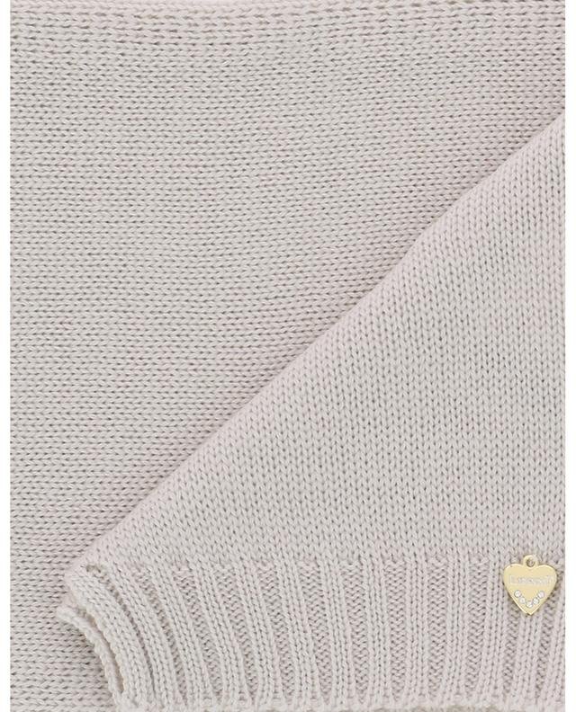 Virgin wool knit scarf IL TRENINO