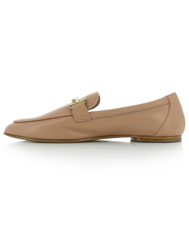 Double T smooth leather loafers TOD'S