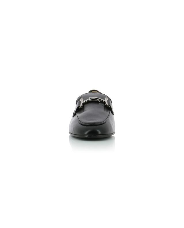Mocassins en cuir grainé Double T TOD'S