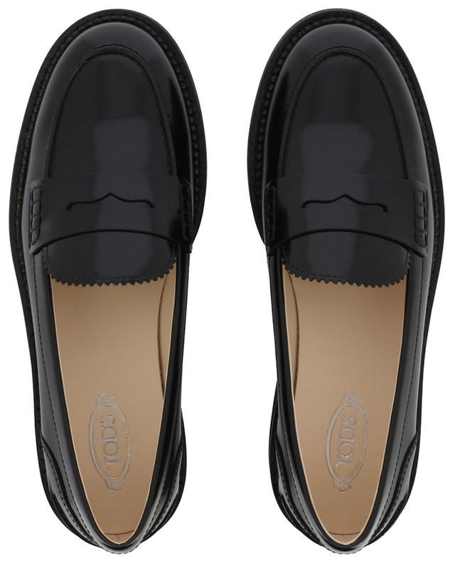College patent leather loafers TOD'S