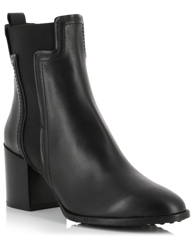 Leather ankle boots with T-panels TOD'S