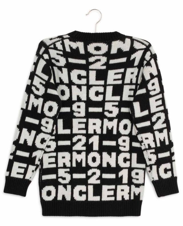 Robe pull en laine et alpaga mélangés MONCLER