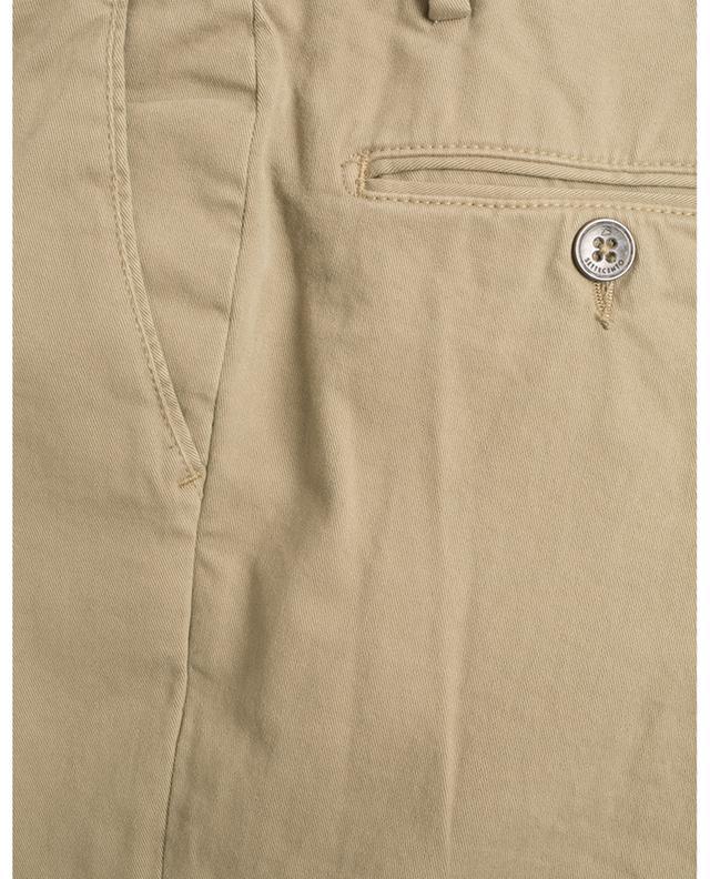 Cotton blend chino trousers B SETTECENTO