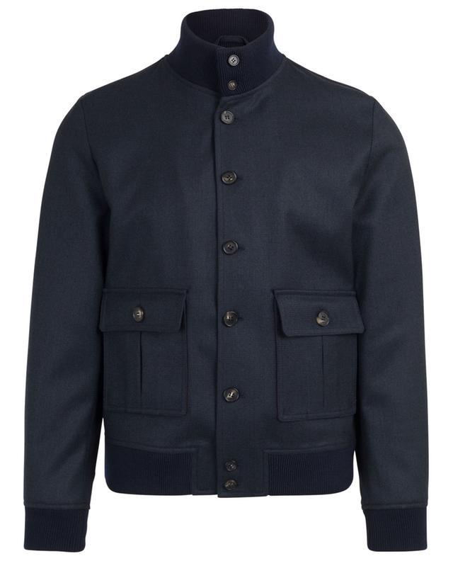 Leichte Jacke aus Schurwolle mit Print VALSTAR MILANO 1911