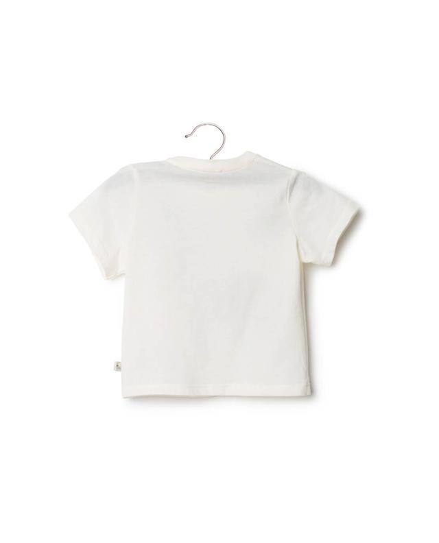Stella mccartney baumwoll-t-shirt mit print weiss A14672-BLAN