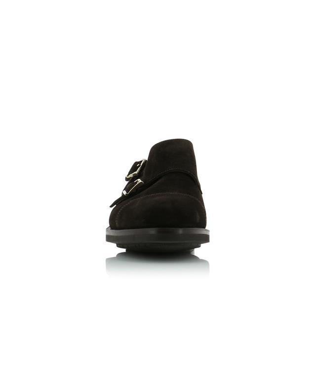 Suede monk strap shoes SANTONI
