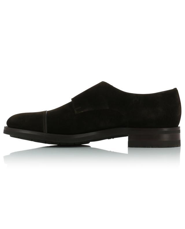 Chaussures à double boucle en daim SANTONI