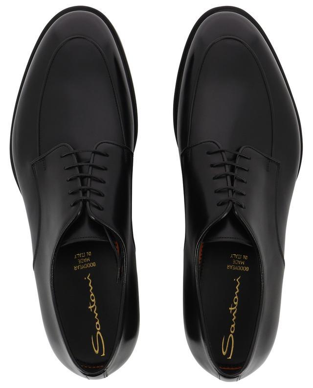 Shiny leather lace-up shoes SANTONI