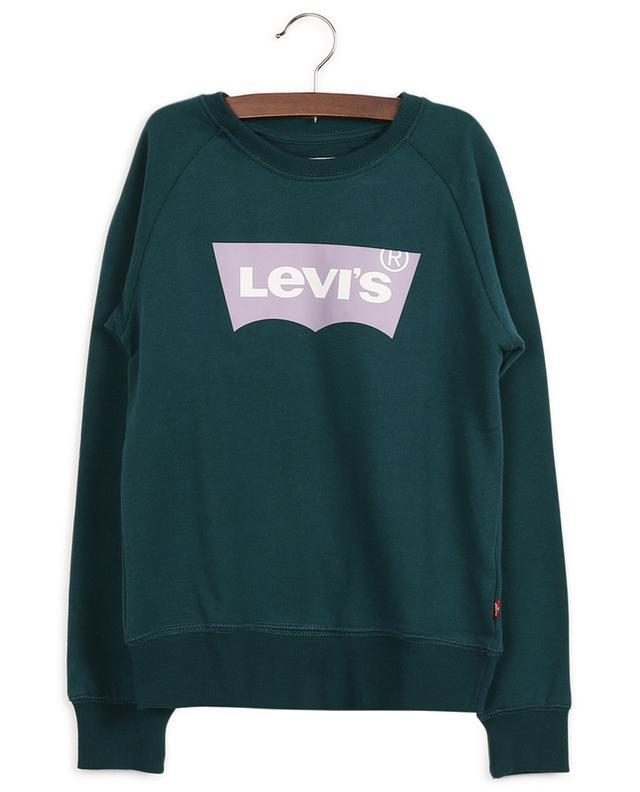 Logo-Sweatshirt aus Baumwollmix LEVI'S KIDS