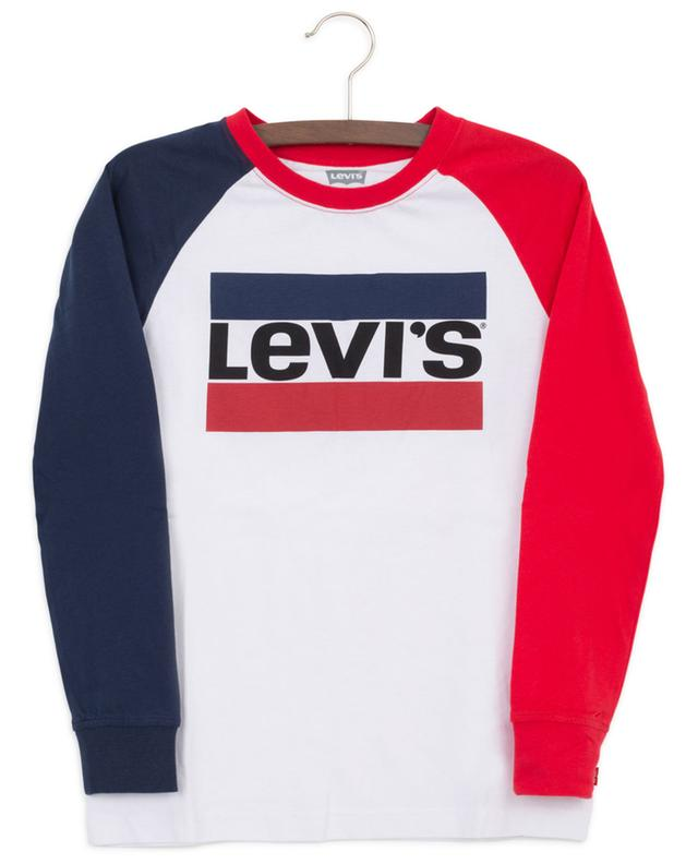Langarm-T-Shirt Colour Blocked Sportswear Logo LEVI'S KIDS