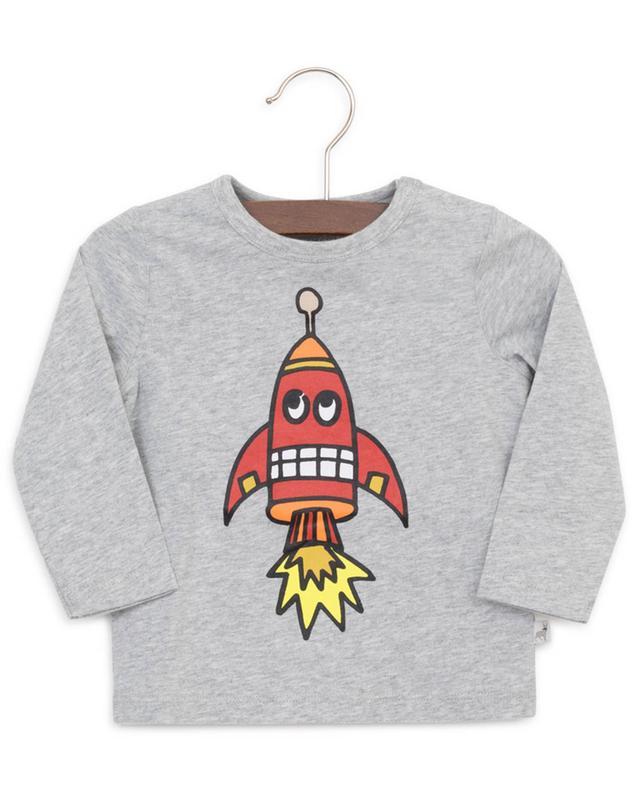 T-shirt à manches longues Space Shuttle STELLA MCCARTNEY KIDS