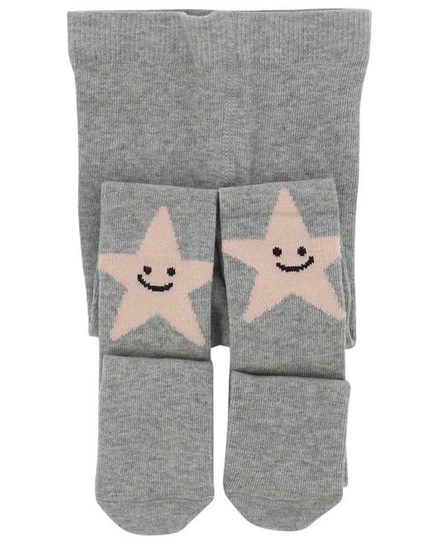 Strick-Strumpfhose Smiling Star Intarsia STELLA MCCARTNEY KIDS
