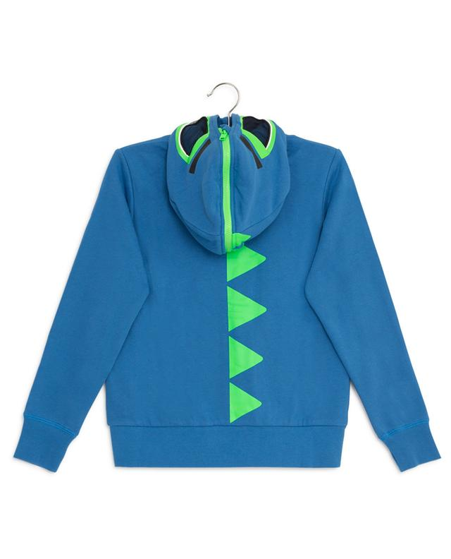 Sweat-shirt à capuche en coton Dinosaur STELLA MCCARTNEY KIDS