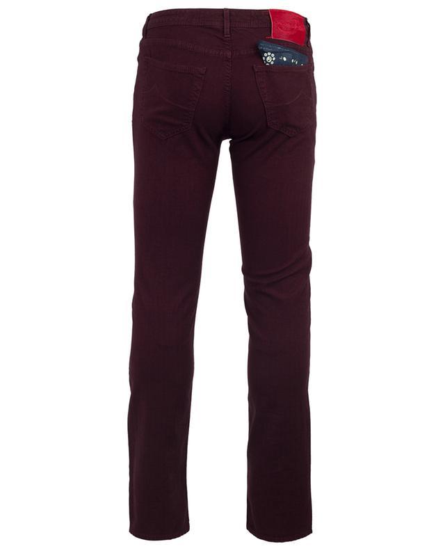 Slim-Jeans aus Baumwollmix mit Fischgratmotiv J622 JACOB COHEN